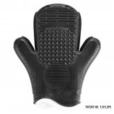 2X Sigma Spa® Brush Cleaning Glove Black Color