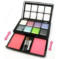 Beauties Factory Paleta 8 Sombras + 2 Coloretes N7